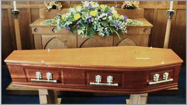 The Warwick coffin
