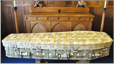 Bamboo Eco coffin
