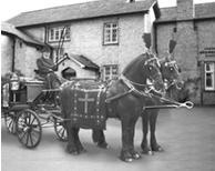 Horse drawn hearse